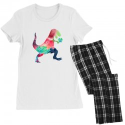 saint patricks t rex Women's Pajamas Set | Artistshot