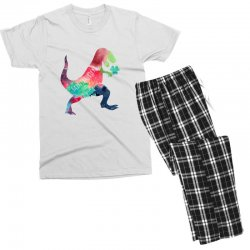 saint patricks t rex Men's T-shirt Pajama Set | Artistshot