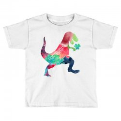 saint patricks t rex Toddler T-shirt | Artistshot