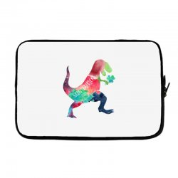 saint patricks t rex Laptop sleeve | Artistshot
