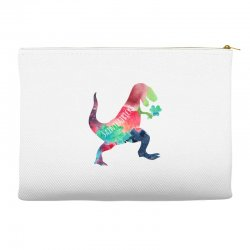 saint patricks t rex Accessory Pouches | Artistshot