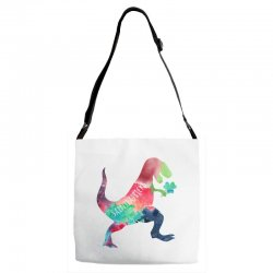 saint patricks t rex Adjustable Strap Totes | Artistshot