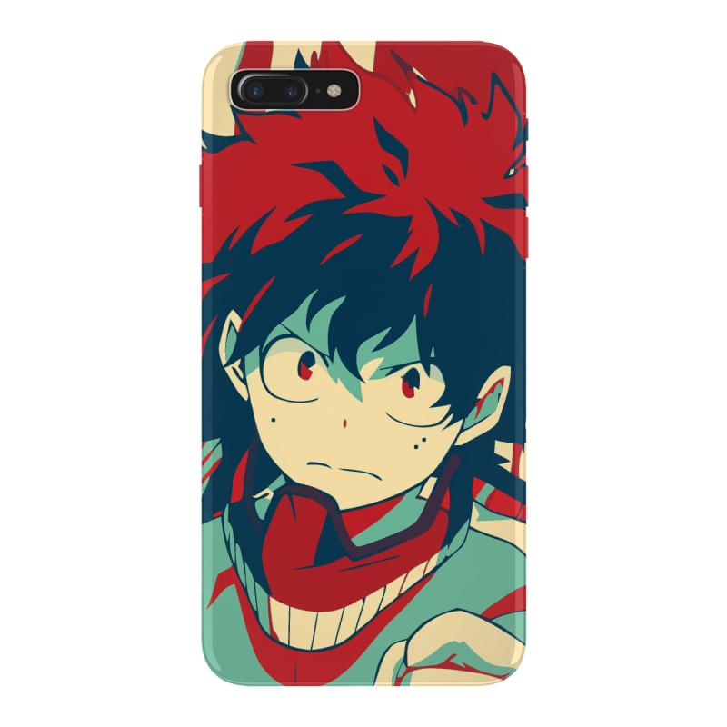 detailed look 0e22e d6aab Deku My Hero Academia Iphone 7 Plus Case. By Artistshot