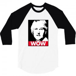 owen wilson wow 3/4 Sleeve Shirt | Artistshot