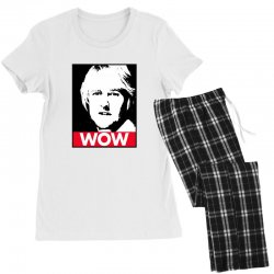 owen wilson wow Women's Pajamas Set | Artistshot