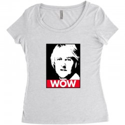owen wilson wow Women's Triblend Scoop T-shirt | Artistshot