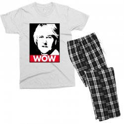 owen wilson wow Men's T-shirt Pajama Set | Artistshot