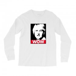 owen wilson wow Long Sleeve Shirts | Artistshot