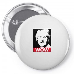 owen wilson wow Pin-back button | Artistshot