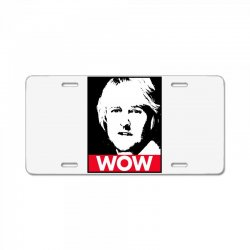 owen wilson wow License Plate | Artistshot