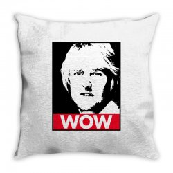 owen wilson wow Throw Pillow | Artistshot