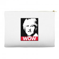 owen wilson wow Accessory Pouches | Artistshot