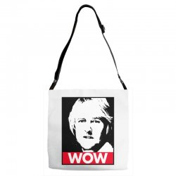 owen wilson wow Adjustable Strap Totes | Artistshot