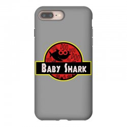 baby shark jurassic park parody iPhone 8 Plus Case | Artistshot