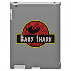 baby shark jurassic park parody iPad 3 and 4 Case | Artistshot