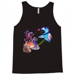 wall e and eve watercolor Tank Top | Artistshot