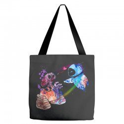 wall e and eve watercolor Tote Bags | Artistshot