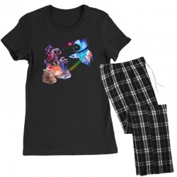 wall e and eve watercolor Women's Pajamas Set | Artistshot