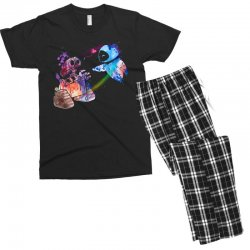 wall e and eve watercolor Men's T-shirt Pajama Set | Artistshot