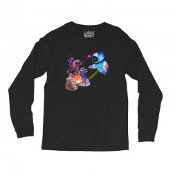 wall e and eve watercolor Long Sleeve Shirts | Artistshot