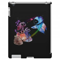 wall e and eve watercolor iPad 3 and 4 Case | Artistshot