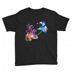 wall e and eve watercolor Youth Tee | Artistshot