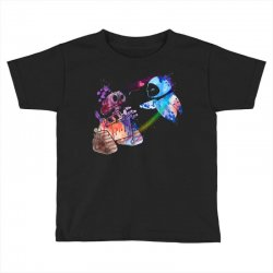 wall e and eve watercolor Toddler T-shirt | Artistshot
