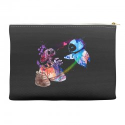 wall e and eve watercolor Accessory Pouches | Artistshot