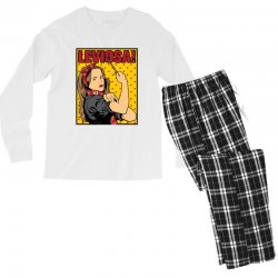 leviosa Men's Long Sleeve Pajama Set | Artistshot