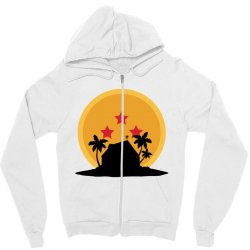 kame house for light Zipper Hoodie | Artistshot