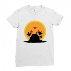 kame house for light Ladies Fitted T-Shirt | Artistshot