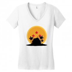kame house for light Women's V-Neck T-Shirt | Artistshot
