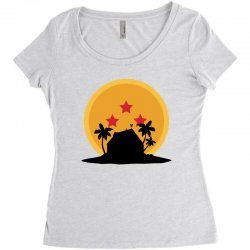 kame house for light Women's Triblend Scoop T-shirt | Artistshot