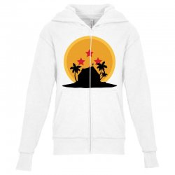 kame house for light Youth Zipper Hoodie | Artistshot