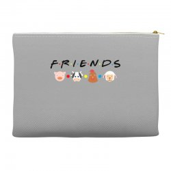 friends animal for light Accessory Pouches | Artistshot