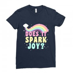 does it spark joy Ladies Fitted T-Shirt | Artistshot