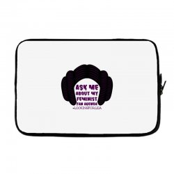 ask me about my feminist fan agenda looking for leia Laptop sleeve | Artistshot