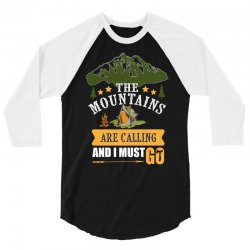 the mountains are calling 3/4 Sleeve Shirt | Artistshot