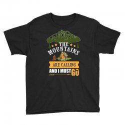 the mountains are calling Youth Tee | Artistshot