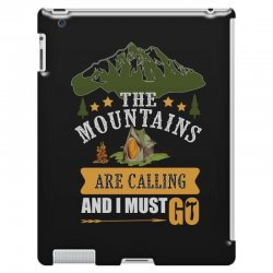 the mountains are calling iPad 3 and 4 Case | Artistshot