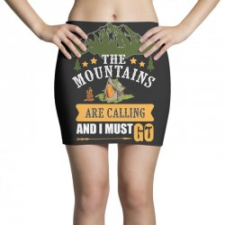 the mountains are calling Mini Skirts | Artistshot