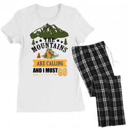 the mountains are calling Women's Pajamas Set | Artistshot