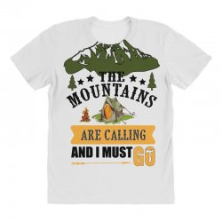 the mountains are calling All Over Women's T-shirt | Artistshot