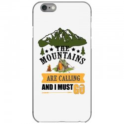 the mountains are calling iPhone 6/6s Case | Artistshot