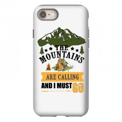the mountains are calling iPhone 8 Case | Artistshot