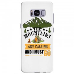 the mountains are calling Samsung Galaxy S8 Plus Case | Artistshot