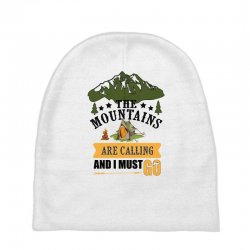the mountains are calling Baby Beanies | Artistshot