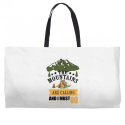 the mountains are calling Weekender Totes | Artistshot