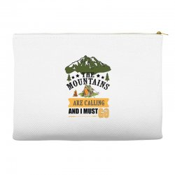 the mountains are calling Accessory Pouches | Artistshot
