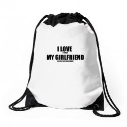 i love it when my girlfriend lets me play video games Drawstring Bags | Artistshot